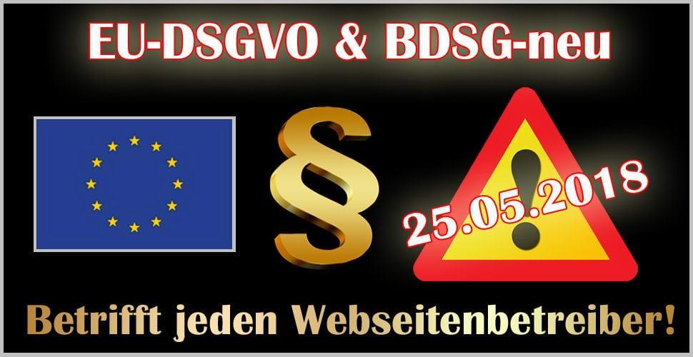 Datenschutz für Vereine - EU Datenschutzgrundverordnung - EU-DSGVO